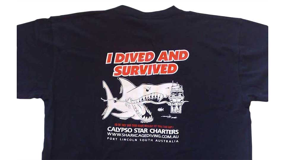 I Dived and Survived T-shirt